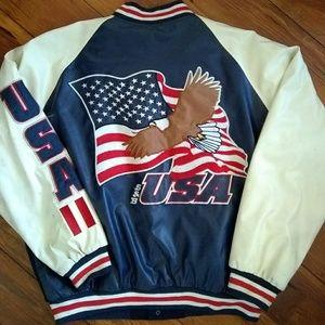 Vintage steve an barrys U.S.A. varsity